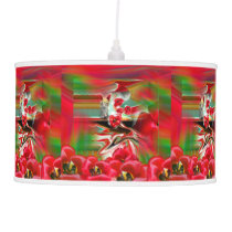 Spring Revival Abstract Easter Art Pendant Lamp