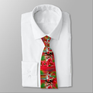Spring Revival Abstract Easter Art Tie