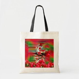 Spring Revival Abstract Easter Art Tote Bag