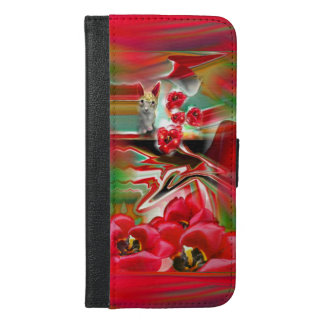 Spring Revival Abstract Easter Art Wallet Case