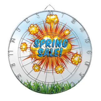 Spring rolls dart board