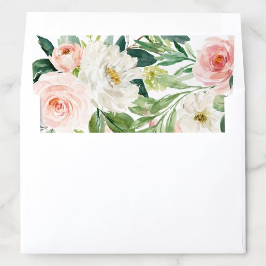 Spring Romance Envelope Liner