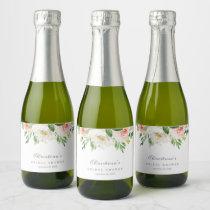 Spring Romance Mini Champagne Bottle Labels