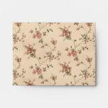 spring romance victorian rose pattern envelopes