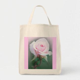Spring Rose Tote Grocery Tote Bag
