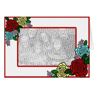 Spring Roses Card