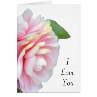 Spring Roses Love Card