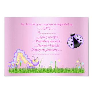SPRING RSVP PINK CARD
