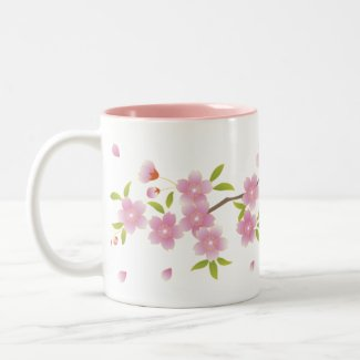 Spring Sakura Mug mug