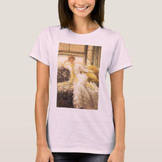 Spring (Seaside) by James Tissot, Vintage Portrait T-Shirt