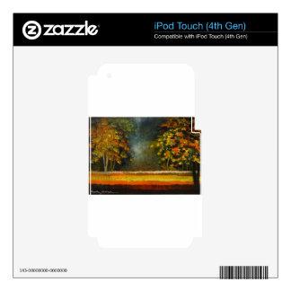 Spring Season 5 iPod Touch 4G Skin