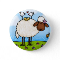 spring sheep button