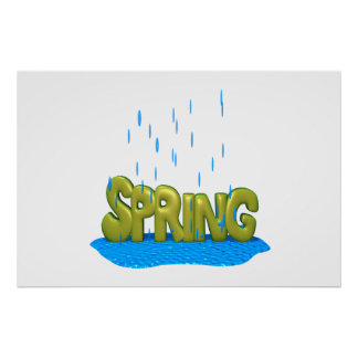 Spring Showers 2 Poster