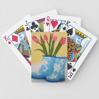 Spring Showers Playing Cards