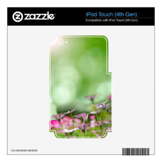 Spring Skins For iPod Touch 4G