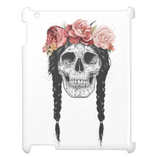 Spring skull cover for the iPad 2 3 4