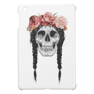 Spring skull cover for the iPad mini