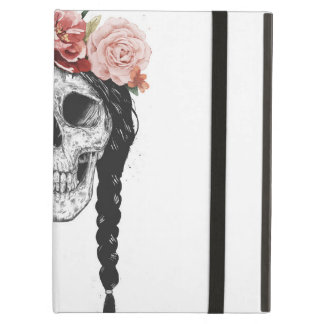 Spring skull iPad air cover