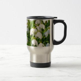 Spring Snowflake & Summer Snowflake or Loddon Lily 15 Oz Stainless Steel Travel Mug