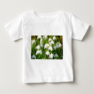 Spring Snowflake & Summer Snowflake or Loddon Lily Baby T-Shirt