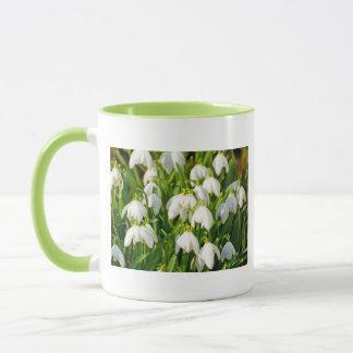 Spring Snowflake & Summer Snowflake or Loddon Lily Mug