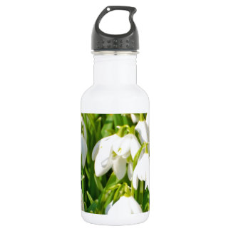 Spring Snowflake & Summer Snowflake or Loddon Lily Stainless Steel Water Bottle