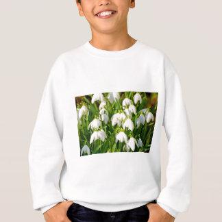 Spring Snowflake & Summer Snowflake or Loddon Lily Sweatshirt