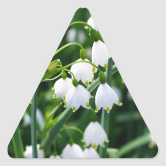 Spring Snowflakes Stickers