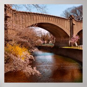Spring - Springtime in Newark Posters