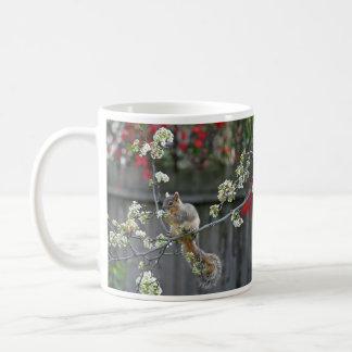 """""""Spring Squirrel"""" Coffee Mug"""