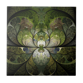 Spring Stained Glass Tile