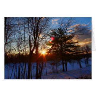Spring Street Sunrise Card