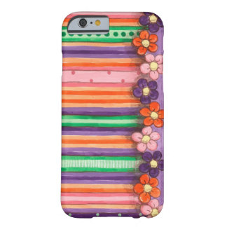 Spring Stripes Barely There iPhone 6 Case