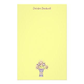 Spring Stuff · Flowers & Vase Stationery