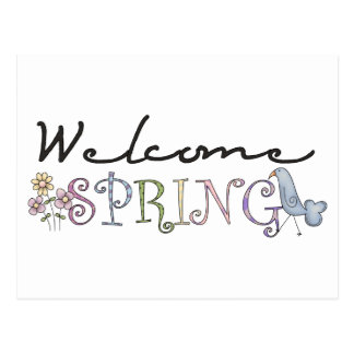 Spring Stuff · Welcome Spring Postcards