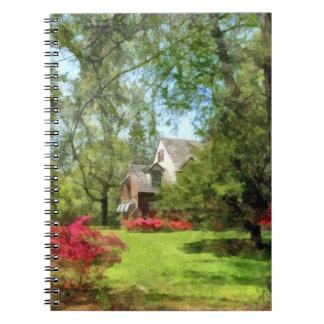 Spring - Suburban House With Azaleas Journal