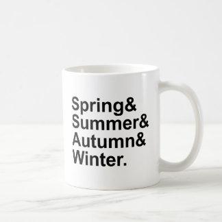 Spring Summer Autumn Winter | Four Seasons Coffee Mug