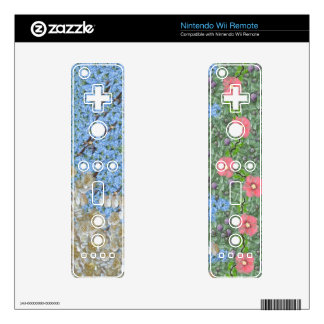 Spring/ Summer Blooms Nintendo Wii Remote Skins