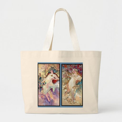 Spring Summer Fall Winter Canvas Bag