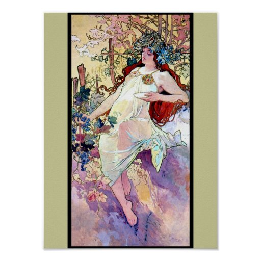 Spring Summer Fall Winter Poster from Zazzle.