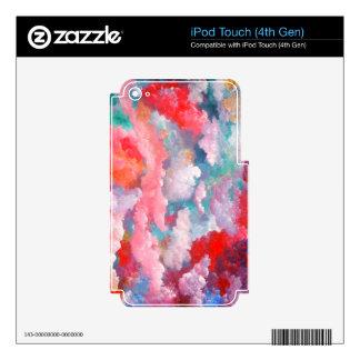 Spring Summer Floral Fantasy Elegant Art iPod Touch 4G Skins