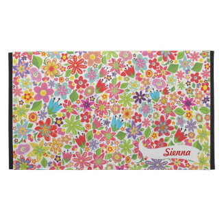 Spring Summer Flowers IPAD Caseable Folio Case iPad Folio Covers