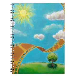 Spring summer movie fun film photographer art notebook