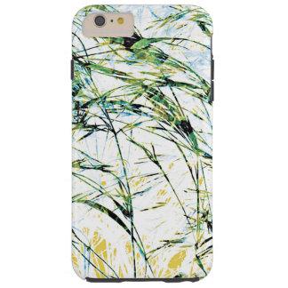 Spring summer nature flower sprout design art tough iPhone 6 plus case