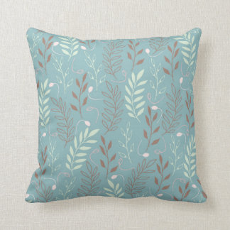 Spring & Summer Pattern Throw Pillow