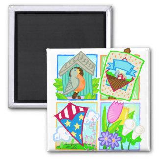 Spring/Summer Seasonal Design Magnets