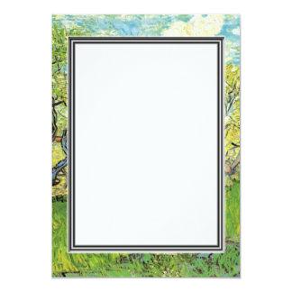 spring, summer wedding invitation. van Gogh Card