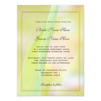 Spring, summer wedding invitations custom announcement