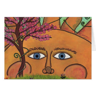 Spring Sun-Greeting Card