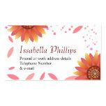 Spring Sunflower business card template